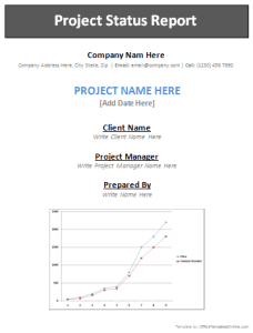 project-status-report-page1