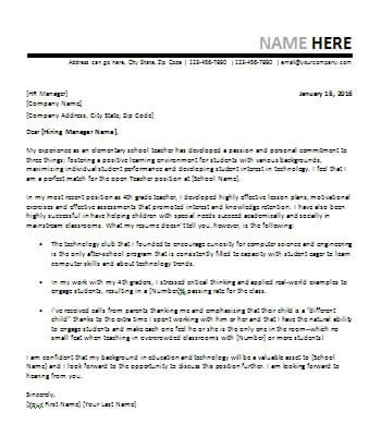 teacher this is designed for teachers copy text of this letter is