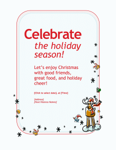 Christmas-Holiday-party-invitation