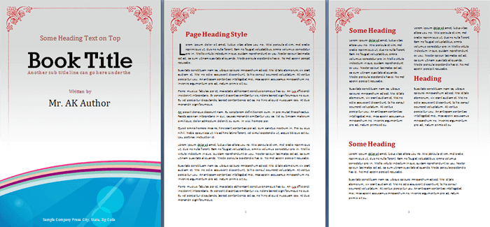 Free Booklet Template Word Venturecapitalupdatecom - Information brochure template