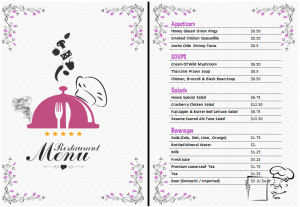 resturant-food-beverage-menu
