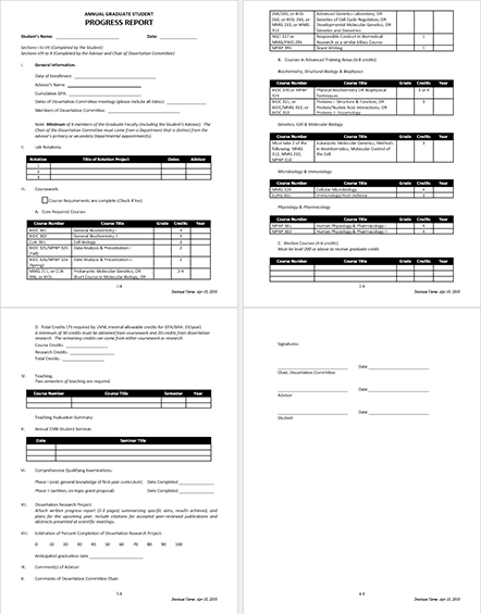 5 Student Report Templates in MS Word