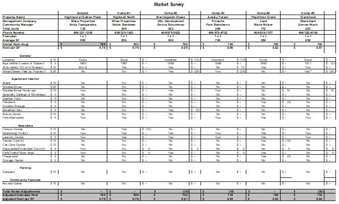 market-survey-template-ms-excel