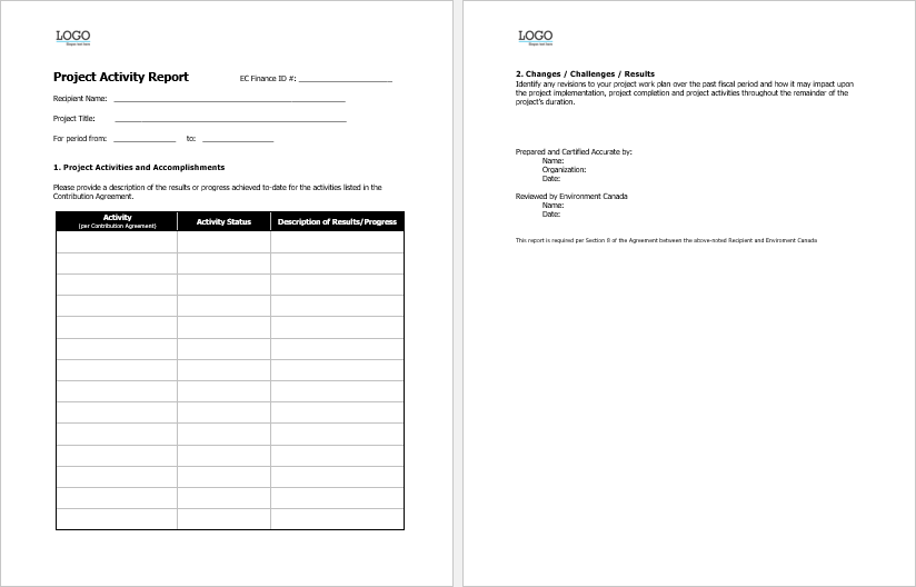 project-activity-report-template-created-in-ms-word