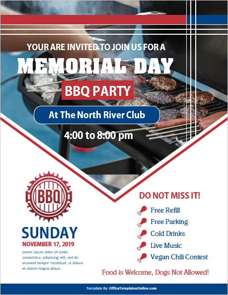 memorial-day-bbq-party-flyer-template