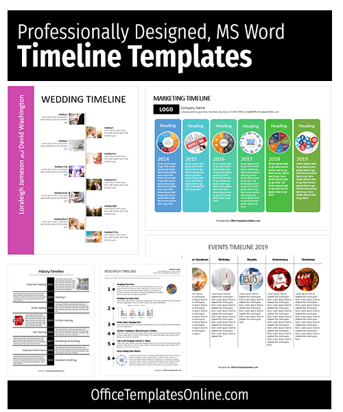 ms-word-timeline-templates