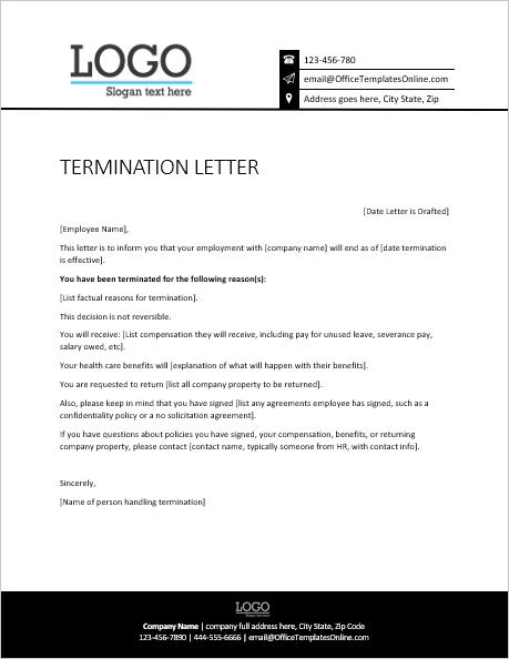 Written Notice Template from officetemplatesonline.com