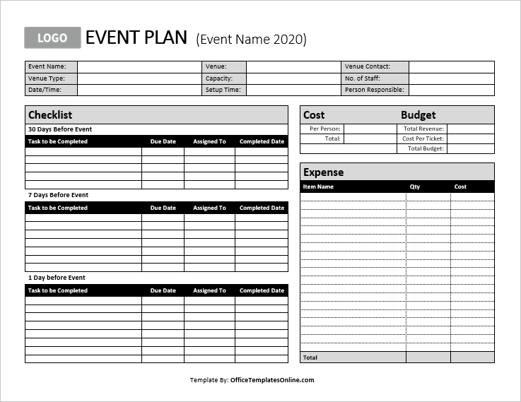 Ms Word Personal Business Plan Templates Office Templates Online